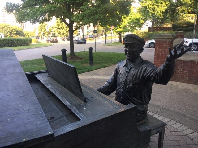 Owen Bradley sculpture, Music Row, Nashville, Elvis Suite