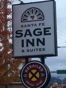 The amenitiy-rich Santa Fe Sage Inn is rich with amenities.
