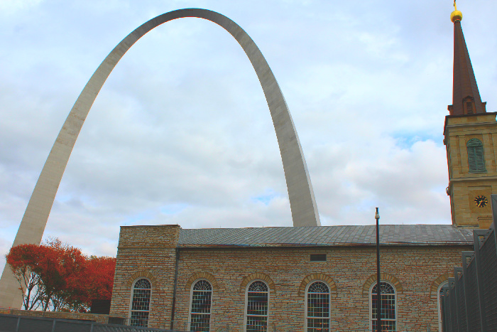 st. louis church and arch