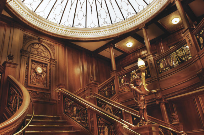 Titanic, Grand Staircase