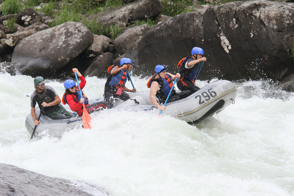 The Upper Gauley River, West Virginia- Class V Rapids
